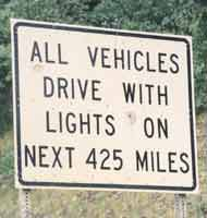 Lights On - Next 425 Miles