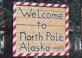 Welcome to North Pole Alaska 99705